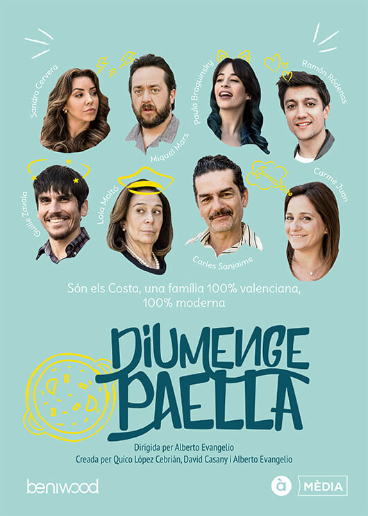 Portfolio Poster Diumenge Paella
