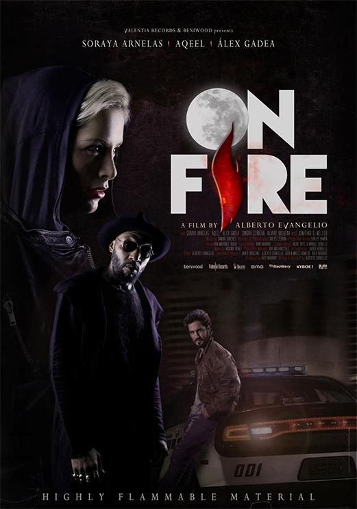 Portfolio Poster On Fire